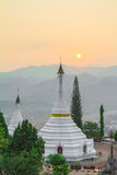 Pagodas de la Thaïlande photographie stock libre de droits