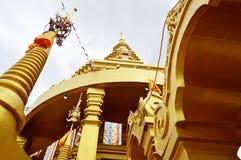 Pagodas de oro Imagen de archivo
