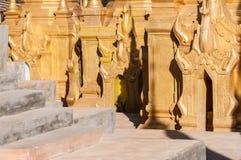 Pagodas de Shwe Indein Foto de archivo libre de regalías