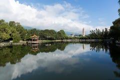 Pagodas del blanco de Dali Foto de archivo libre de regalías