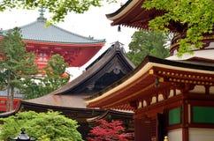 Pagodas del Monte Koya fotos de archivo