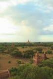 Pagodas di Bagan Fotografie Stock