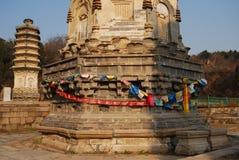 Pagodas di Yinshan Fotografie Stock Libere da Diritti