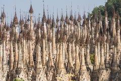 Pagodas en Kakku Imagenes de archivo