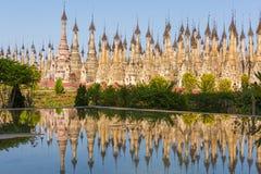 Pagodas en Kakku fotografía de archivo libre de regalías