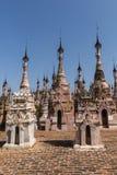 Pagodas en Kakku fotos de archivo libres de regalías