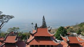 Pagodas en las montañas Imagen de archivo libre de regalías