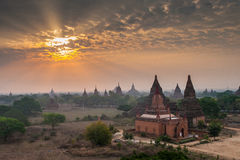 Pagodas Field in bagan Royalty Free Stock Images