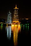 Pagodas, Guilin, China Royalty Free Stock Image