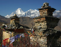 Pagodas In Nepal Royalty Free Stock Photography
