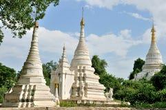 Pagodas in Inwa Stock Photography