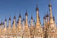 Pagodas at Kakku Royalty Free Stock Photos