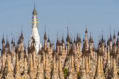 Pagodas at Kakku Stock Photos