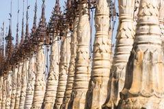 Pagodas at Kakku Stock Image