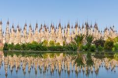 Pagodas at Kakku Stock Images