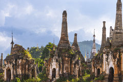 Pagodas in Myanmar Royalty Free Stock Photo