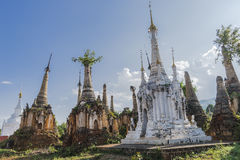 Pagodas in Myanmar Royalty Free Stock Image