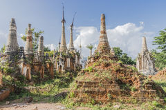 Pagodas in Myanmar Royalty Free Stock Images