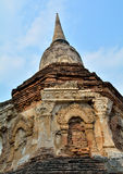 Pagodas old of  chiang mai Royalty Free Stock Image