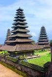 Pagodas On Bali Royalty Free Stock Photography