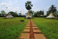 pagodas pass tre Arkivfoton