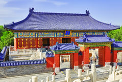 Pagodas, pavilions within the complex of the Temple of Heaven in Royalty Free Stock Photography
