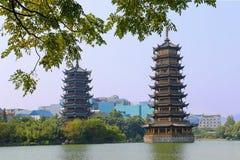 Pagodas Royalty Free Stock Photo