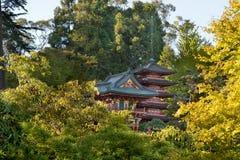pagodas san сада francisco японские Стоковые Фото
