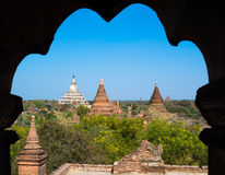 Pagodas and Temples in Bagan Royalty Free Stock Images