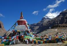 Pagodas tibétaines Images libres de droits