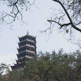 Pagodas Royalty Free Stock Images