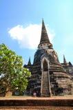 Pagodas viejas con el cielo azul Fotos de archivo libres de regalías