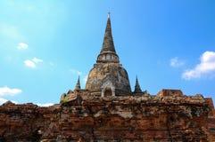 Pagodas viejas con el cielo azul Fotografía de archivo libre de regalías