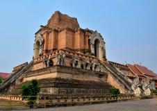 Pagodas Wat Chedi Luang Royalty Free Stock Images