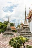 Pagodas at Wat Pho Royalty Free Stock Photos