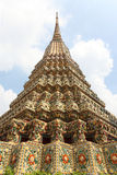 The pagodas of Wat Pho temple. Bangkok, Thailand Stock Images