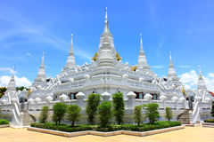 Pagodas Watasokaram In Thailand Royalty Free Stock Photos