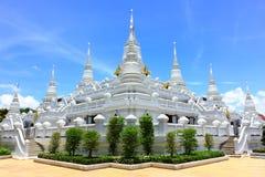 Pagodas watasokaram in thailand Royalty Free Stock Photos