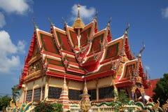 pagodasamui thailand arkivfoton