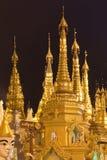 pagodaschwedagon Arkivfoto