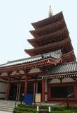 pagodasenso storied tokyo för ji fem fotografering för bildbyråer