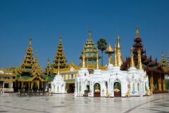 pagodashwedagon Royaltyfri Fotografi