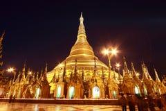 pagodashwedagon Arkivfoton