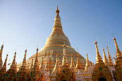 pagodashwedagon Royaltyfri Foto