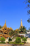 pagodashwedagon Fotografering för Bildbyråer