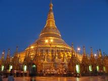 pagodashwedagon Arkivbild