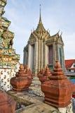 pagodathailand för arun jätte- wat Arkivfoto