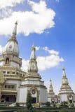 pagodathailand white Arkivfoton
