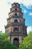 pagodavietnames Arkivfoto