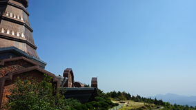 Pagode на inthanon doi Стоковое фото RF